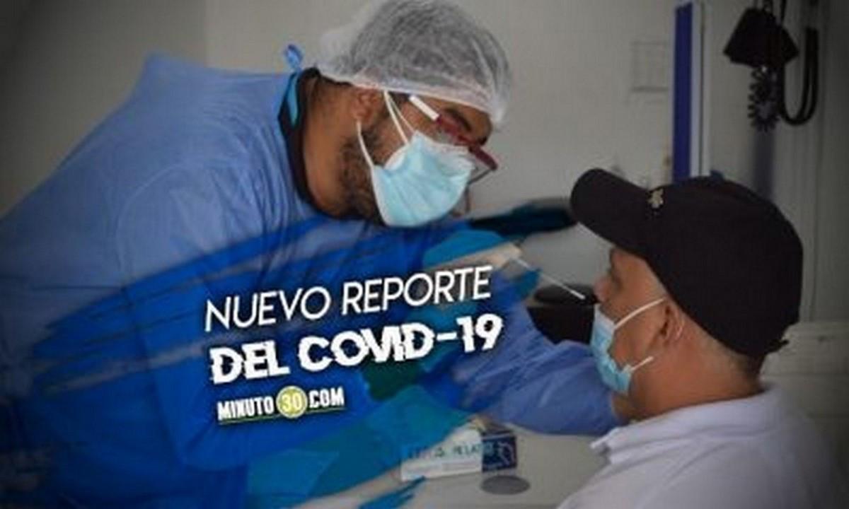 En Antioquia reportaron hoy 3.543 contagiados nuevos de Covid en Antioquia, van 428.031