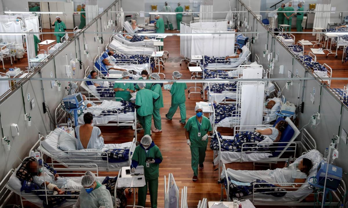 América, en cuidados intensivos por nueva ola de la pandemia