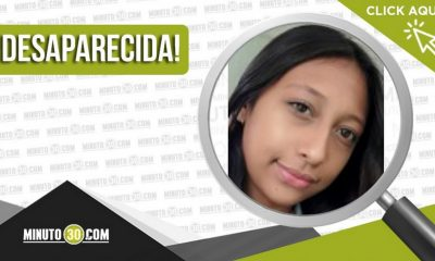 María Salomé Muñoz Ruiz desaparecida