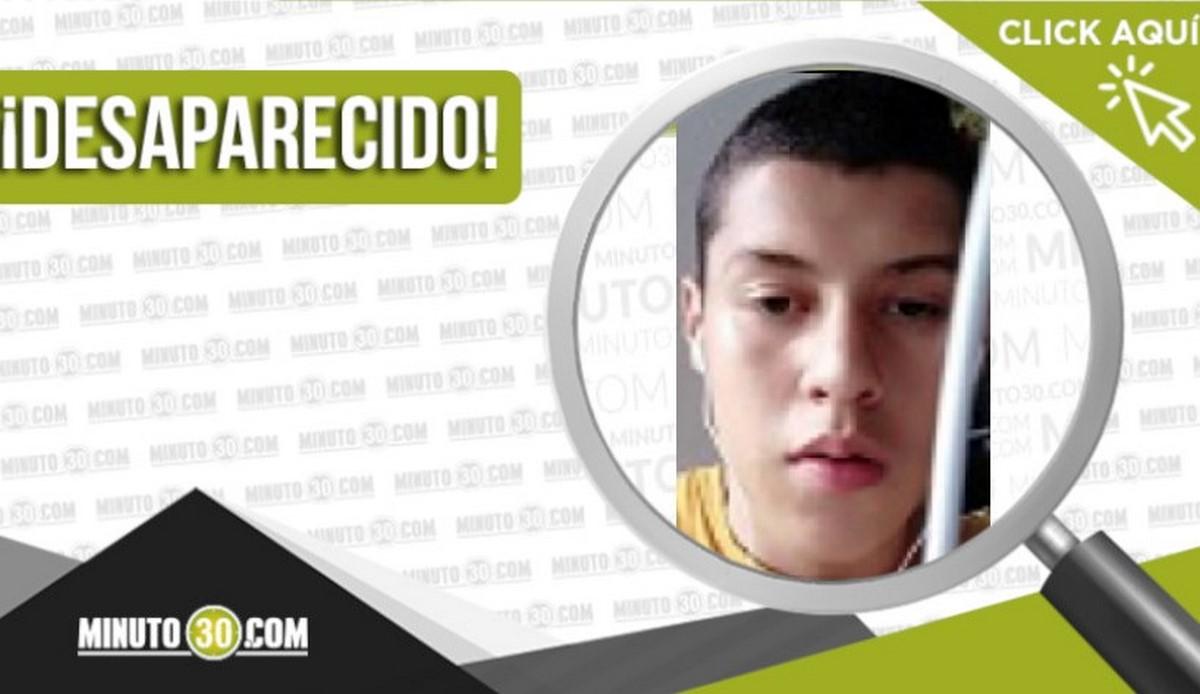 Juan Pablo Bedoya García desaparecido