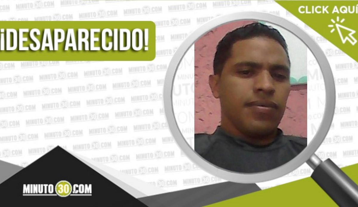 Edward Eulises Urbano Villalba desaparecido