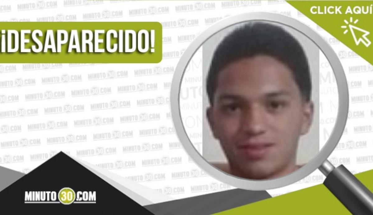Cristian Camilo Amariles Ospina desaparecido