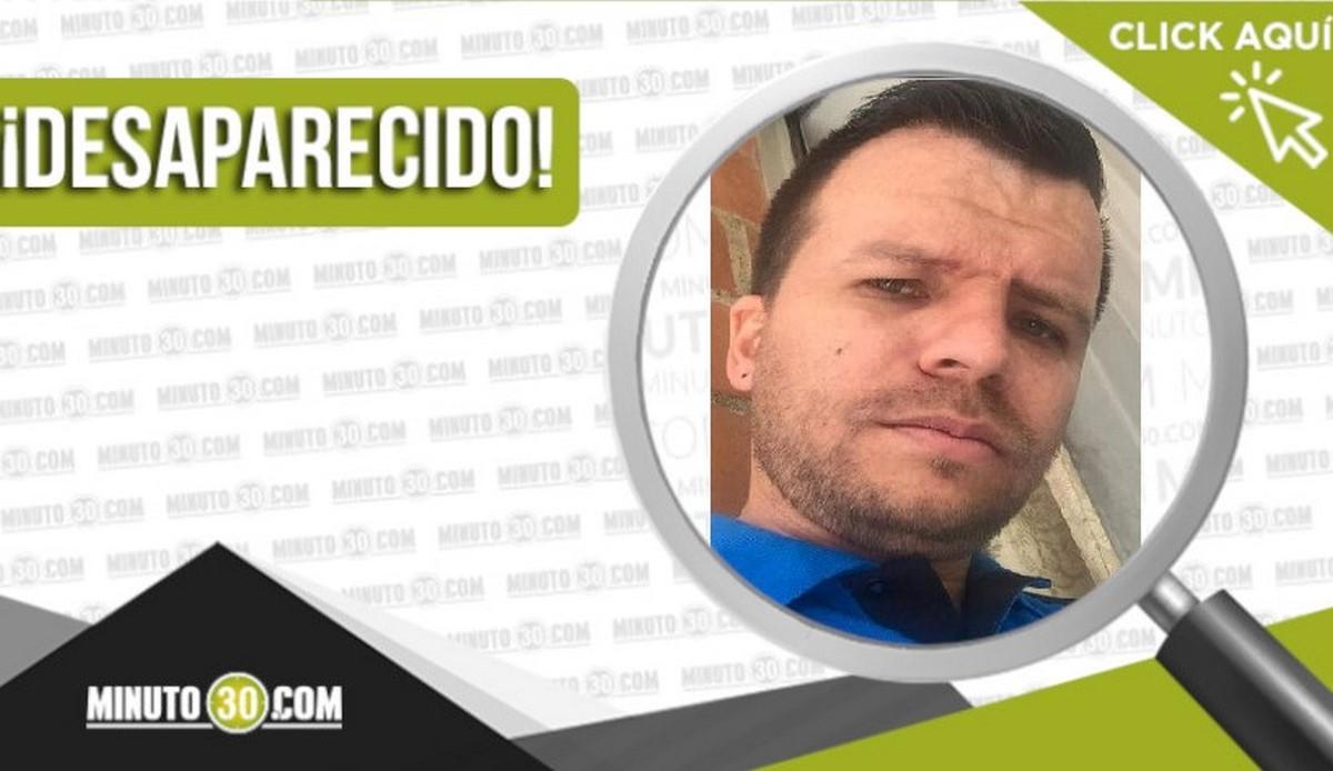 Francisco Antonio Ceballos Ceballos desaparecido