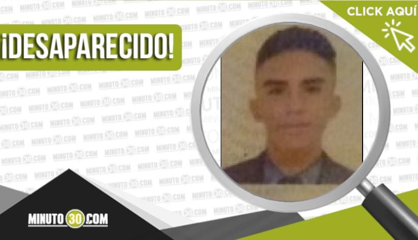 Jhon Santiago Olarte Zapata desaparecido