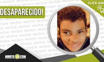 Jesús David Suárez Ortega desaparecido