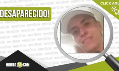 Víctor Manuel Agudelo Ledesma desaparecido