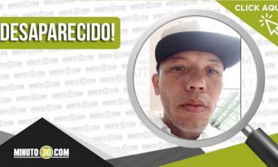 Juan David Cardona Zapata desaparecido