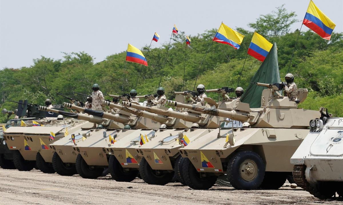 las Fuerzas Armadas de Colombia están capacitadas para responder ante cualquier amenaza que interfiera con la seguridad de los colombianos.