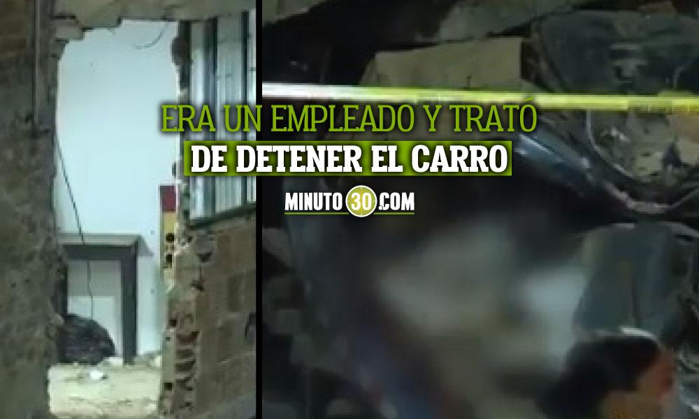 Camión se quedó sin frenos y chocó contra una casa en Bogotá
