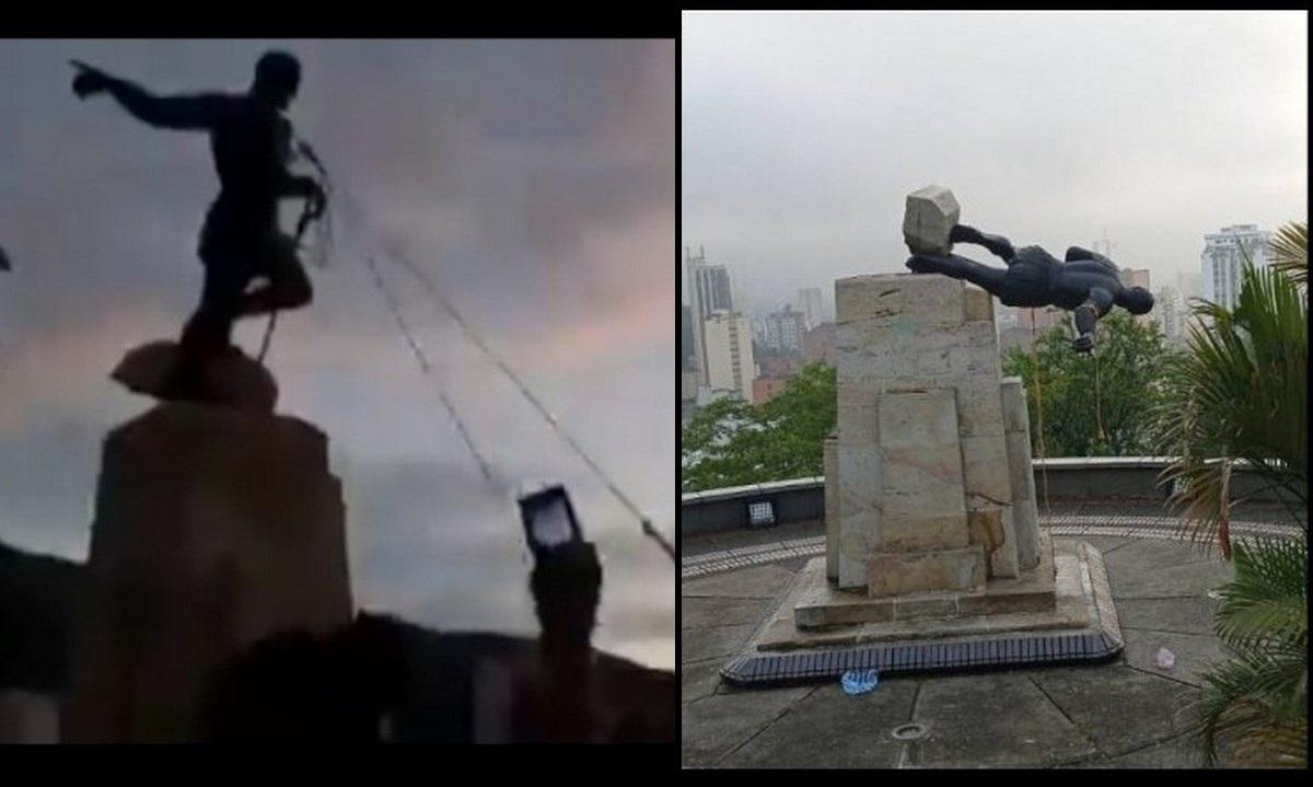 estatua cali paro
