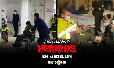 Video: Con fracturas y heridas abiertas son atendidos 87 policías que resultaron heridos en la protesta