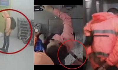 Borracho apuñaló a cajera en Bogotá