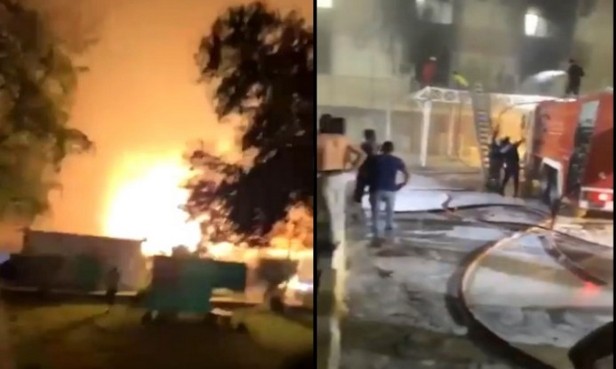 Irak-incendio