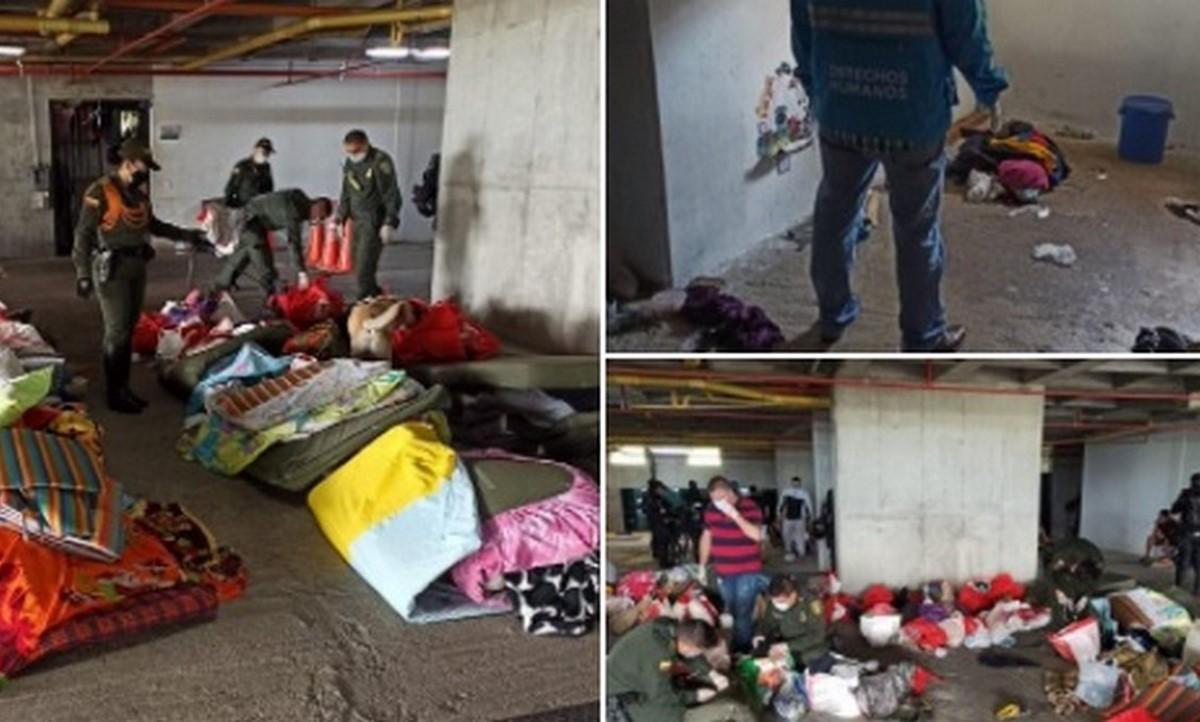 Jornada de aseo en estación de Policía de San Antonio de Prado
