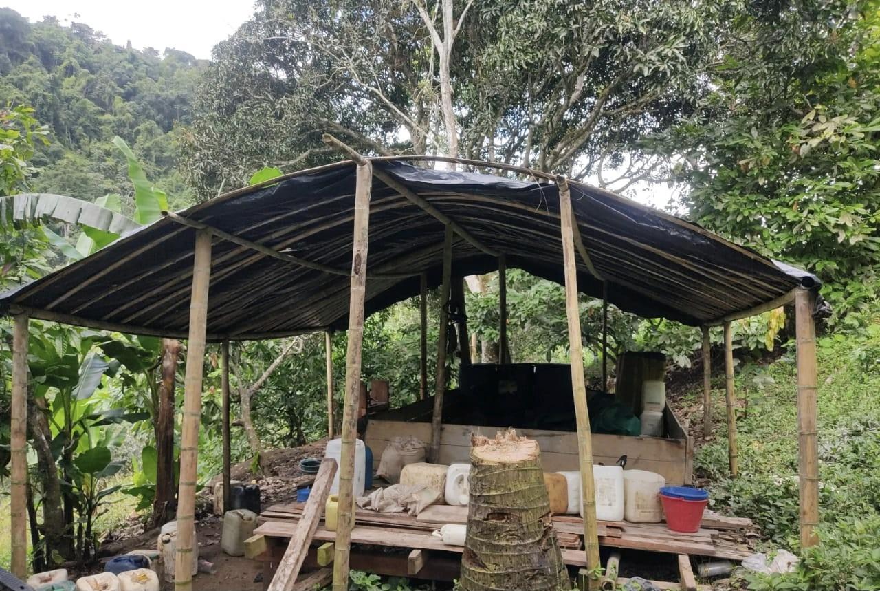 laboratorios base de coca en Choco 1