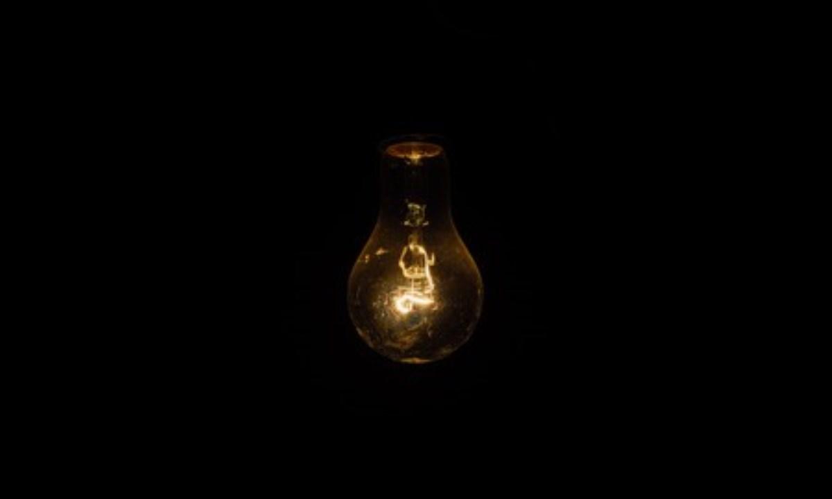 energia, la luz, campamento