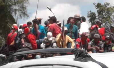 Denuncian que minga indígena fue atacada en Caldono, Cauca