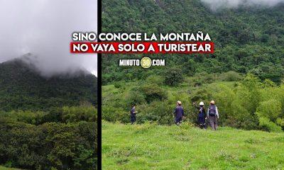 [Video] ¡De buenas! Rescataron sanas y salvas a tres mujeres que se habían extraviado en la montaña del Cerro Tusa