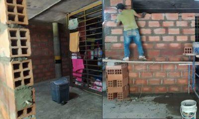 Muro en estación de Policía de Belén es por seguridad