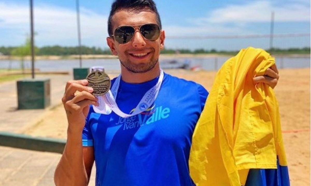 nadador Jorge Ivan del Valle