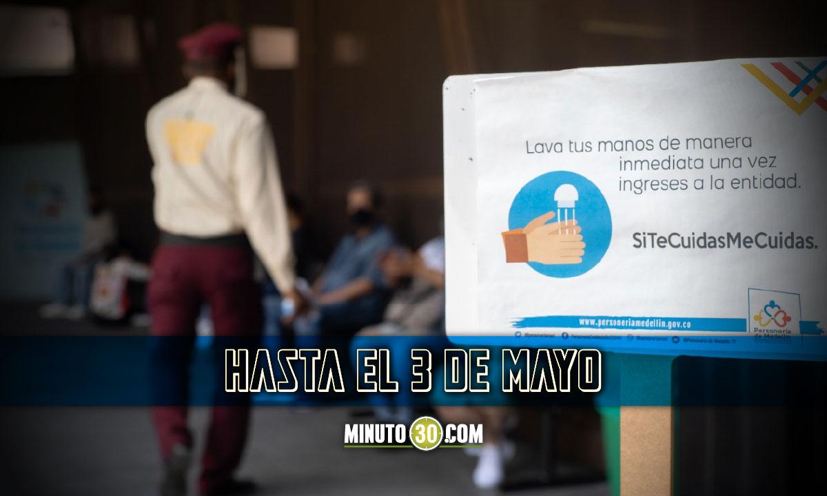 La Personería de Medellín continuará prestando sus servicios de manera virtual o por teléfono