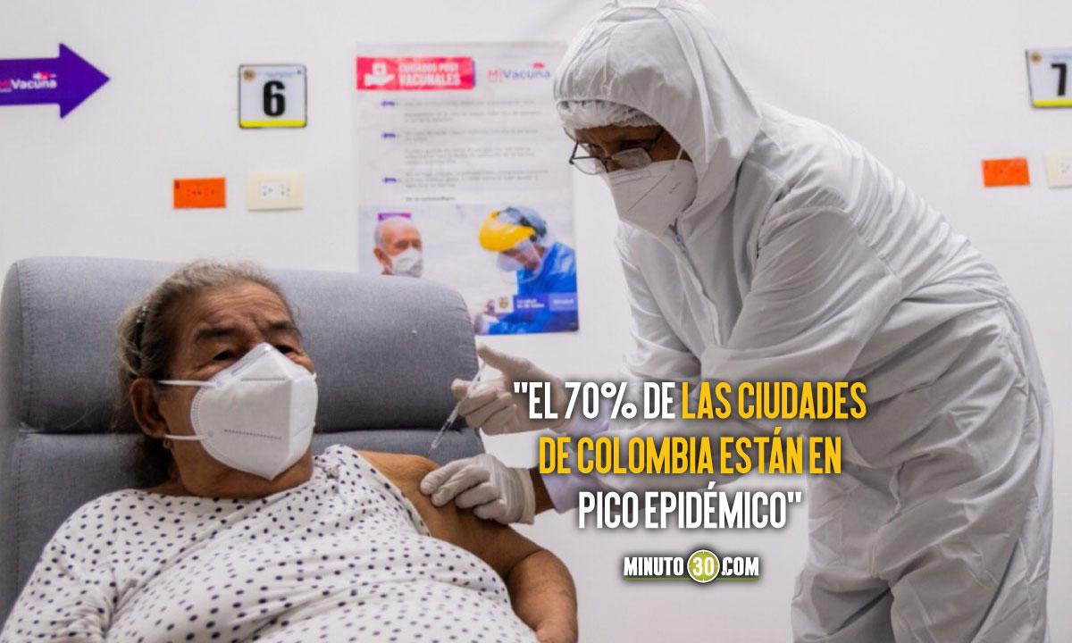 ¡Preocupados! Así están en el Ministerio de Salud por la posibilidad de aumentos de contagios debido a las protestas