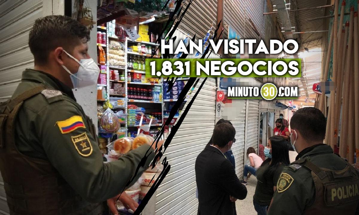 Qué no le pase: Por incumplimiento en las medidas sanitarias cerraron varios negocios en Rionegro