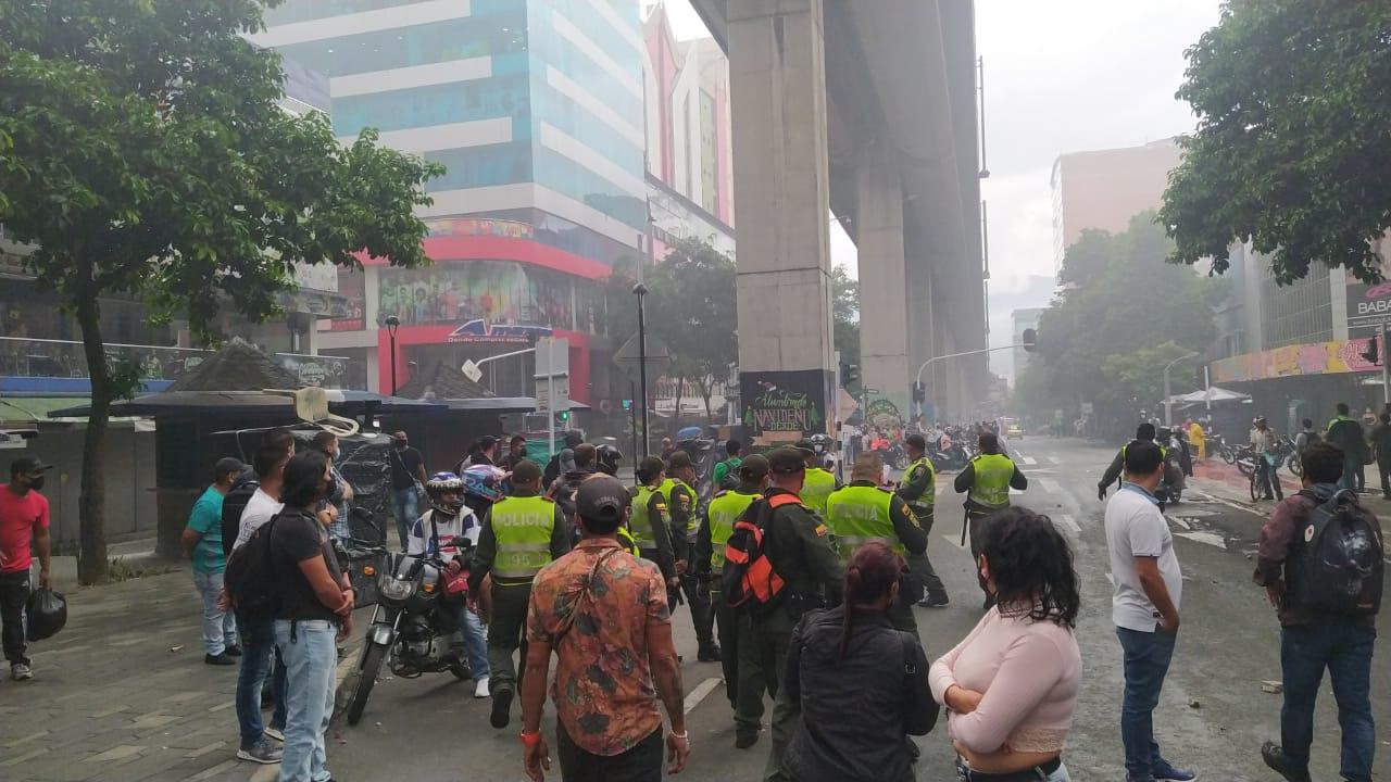 Medellín-policías