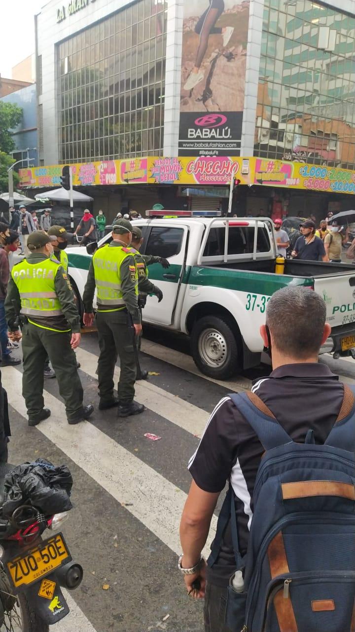 Medellín-policía