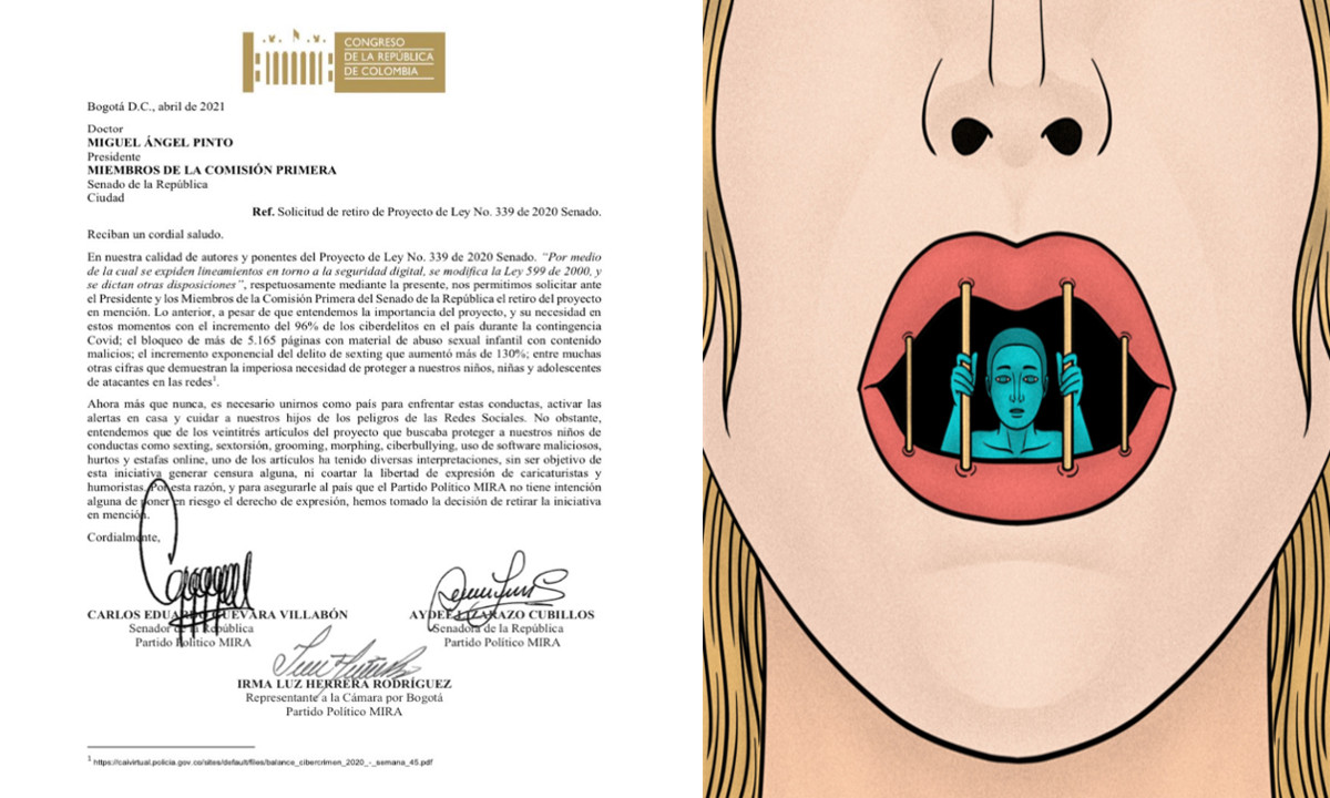 Polémica por proyecto de ley en Colombia que propuso sancionar a creadores de memes