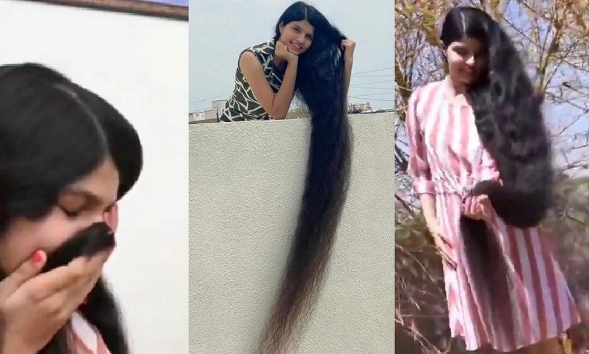 Rapunzel india se cortó el pelo