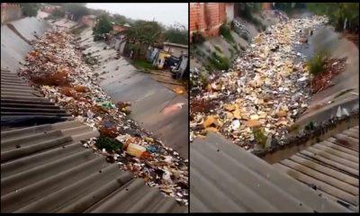 Tras las lluvias que visibilizaron un 'Rio de basura' en Barranquilla, autoridades lideran jornada de limpieza