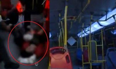 Conductor de SITP atendió un parto en pleno bus