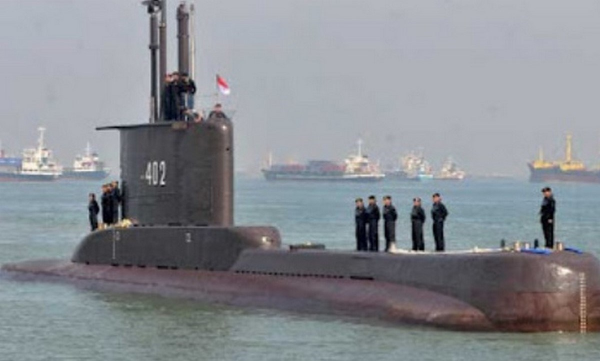 submarino desaparecido bali indonesia