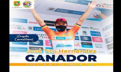Del Team Medellín a Campeón de la Vuelta a Colombia: ¡José Tito Henández , ganó!