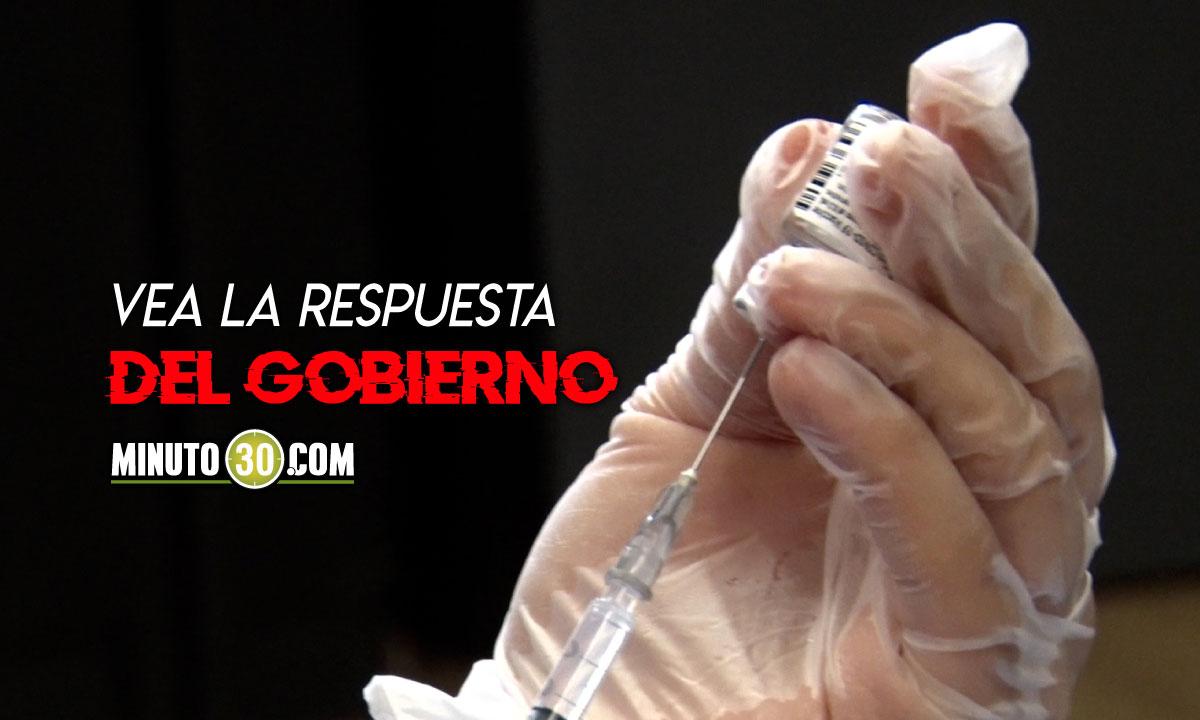 ¿Pueden o no los empresarios en Colombia comprar vacunas contra el Covid?