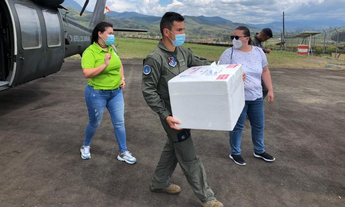 Vacunas Covid llegan a lugares apartados de Antioquia