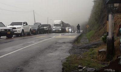 Continua bloqueada la vía hacia Valdivia y Urabá