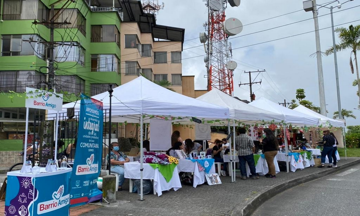 Feria-Manizales emprende con barrio amigo