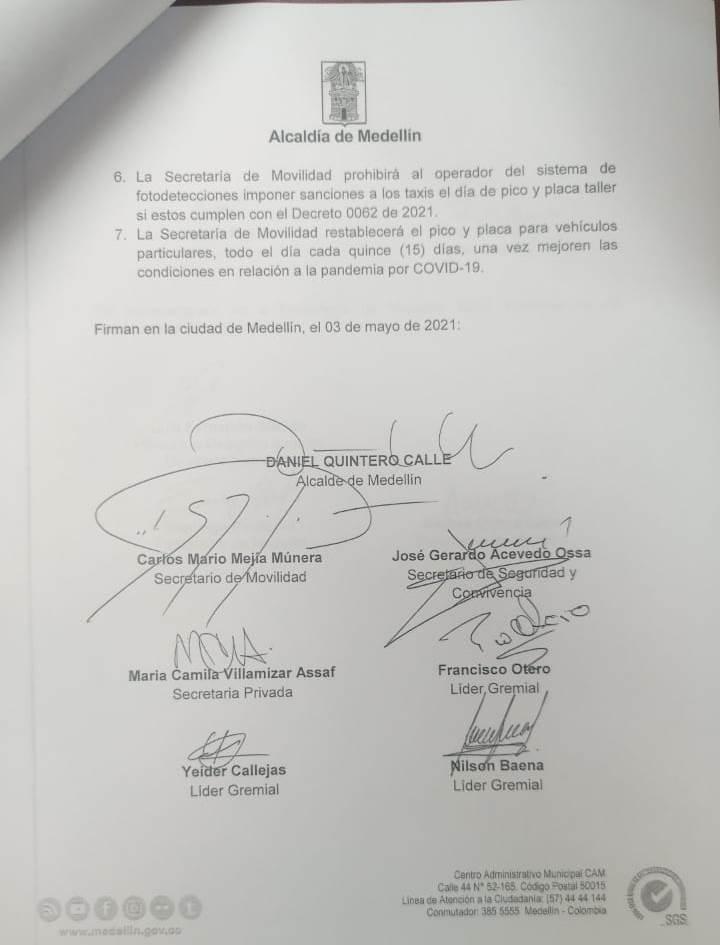 Medellín-taxistas-acuerdo