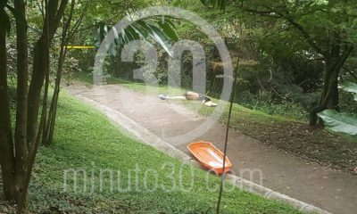"""Muerto encontrado en el Cerro El Volador, estaba semidesnudo y tenía un letrero: """"Por violador de niños"""""""