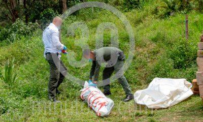 [Fotos] Encontraron un muerto en Belén Altavista, llevaba varios días en el lugar sin que nadie lo viera