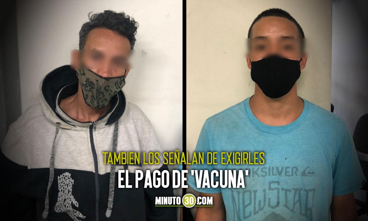 A prisión dos sujetos acusados de desplazar a una familia venezolana de San Javier, Medellín