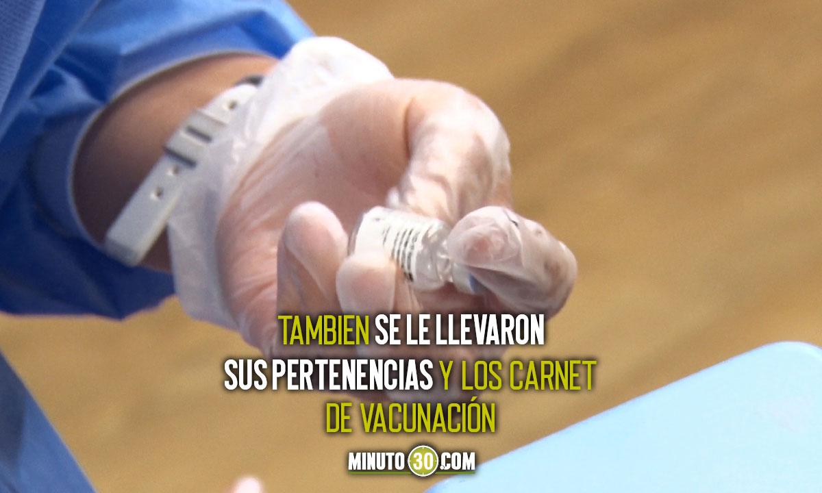¡El colmo! A una vacunadora en Sucre le robaron las dosis contra el Covid