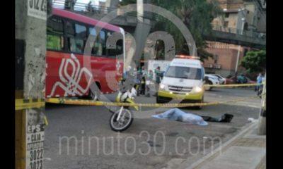 ¡Fatal! Una adulto mayor murió en una accidente tránsito en la Avenida San Juan