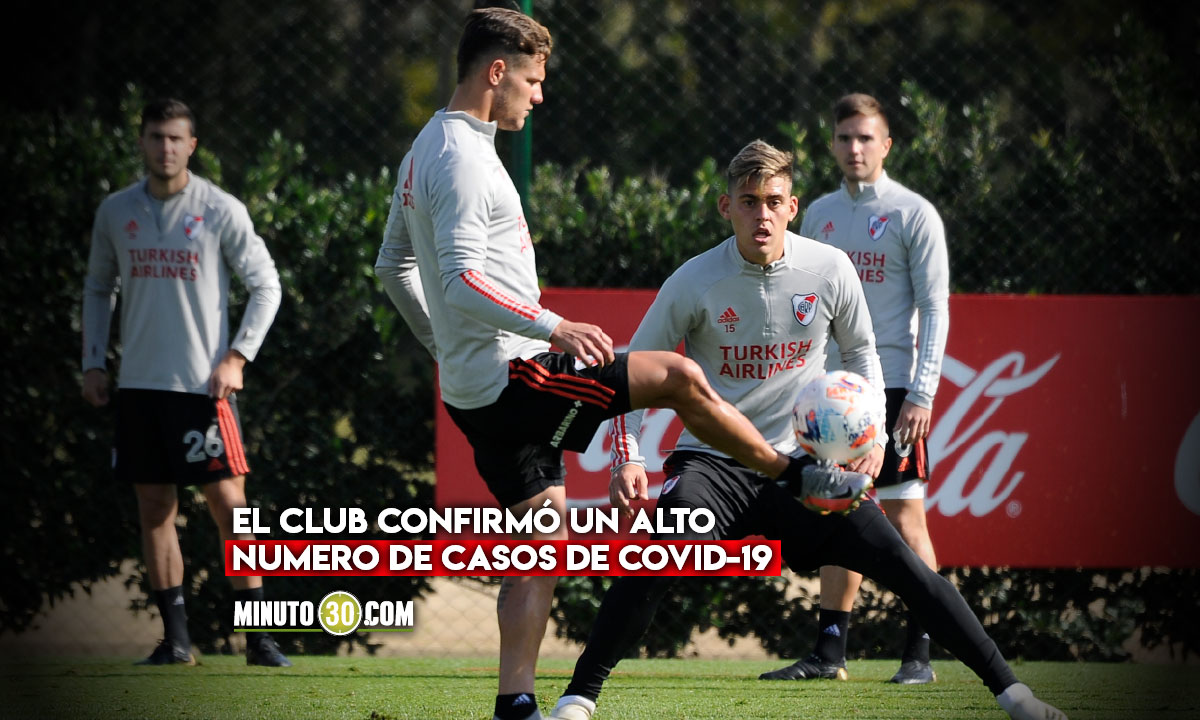 Alarma por brote de contagios en River Plate
