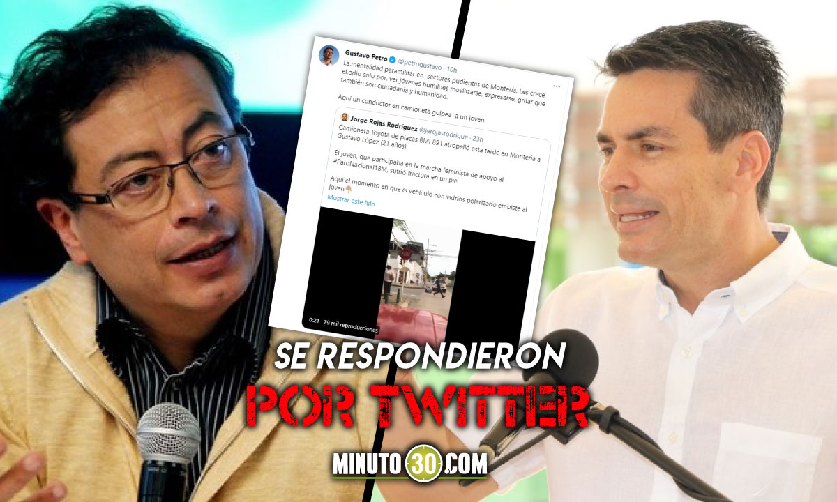 Alcalde de Montería le dijo a Gustavo Petro que dejara el odio