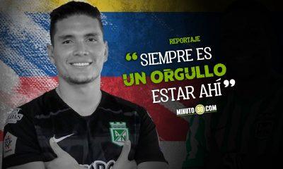 Aldair Quintana feliz con su llamado a la Seleccion Colombia