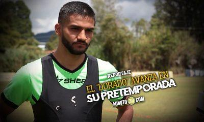 Alejandro Artunduaga una de las caras nuevas que entrena con Aguilas