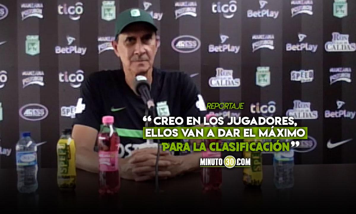 Alexandre Guimaraes motivado por las altas